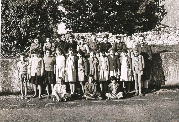 La classe de Monsieur Bouzeran 1963