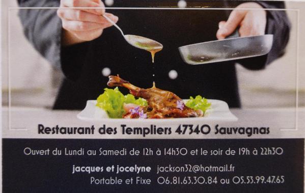 Restaurant des templiers